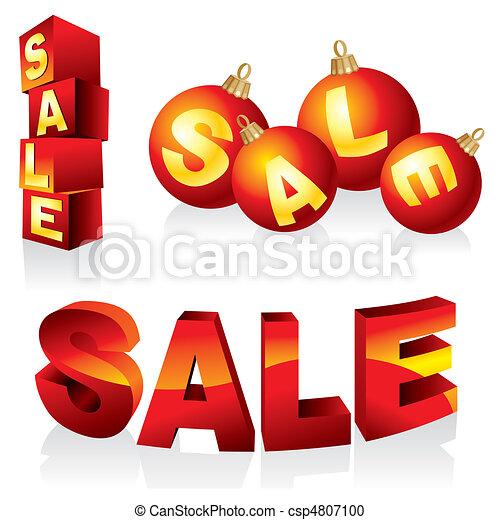 sale design elements - csp4807100