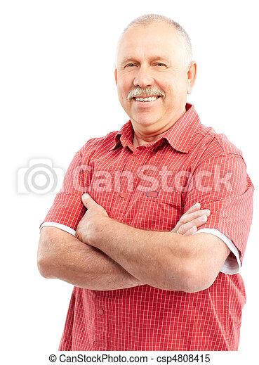 Elderly man - csp4808415