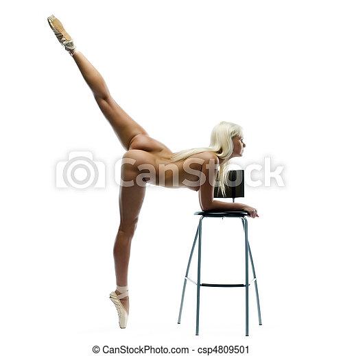 Naakt, ballet - csp4809501