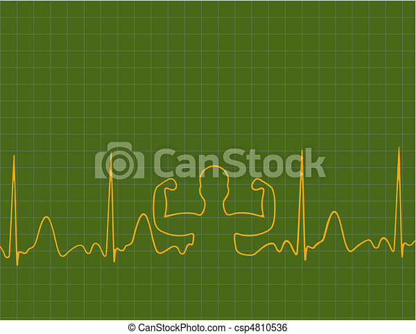 Medical background - csp4810536