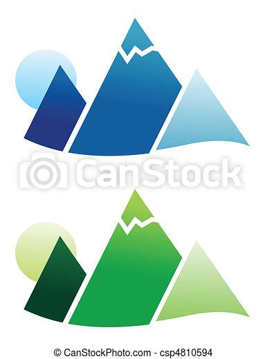 Mountain Icon - csp4810594