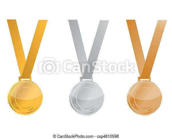 Award Medals - csp4810598