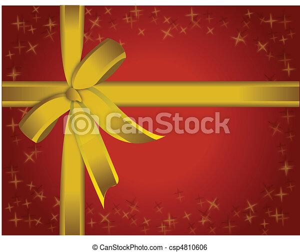 Present Ribbon - csp4810606