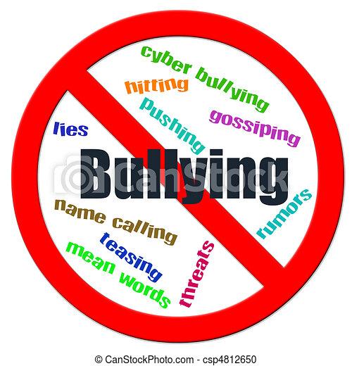 Stop Bullying - csp4812650