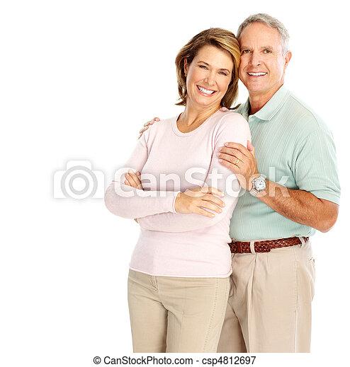 Elderly couple - csp4812697