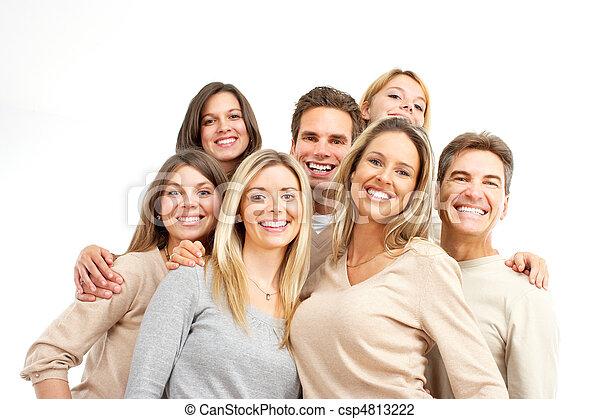 Happy people - csp4813222