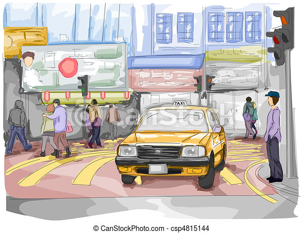 Urban Street Drawings Urban Street Csp4815144
