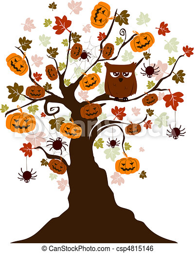 Halloween Tree - csp4815146