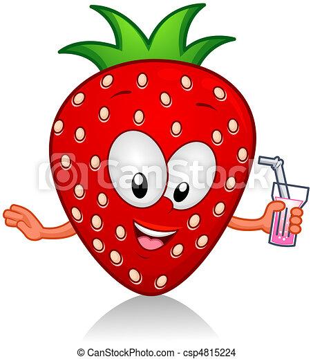 Strawberry Drink - csp4815224