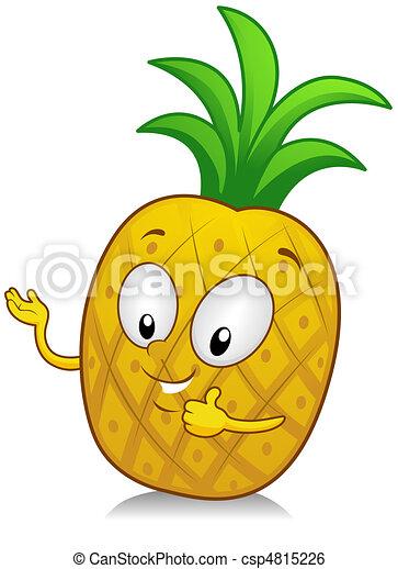Pineapple Gesture - csp4815226