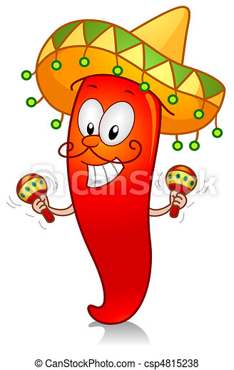 Clip Art Maracas Clipart maracas stock illustration images 2394 illustrations chili playing with of a chili