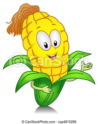 Sweet Corn Gesture - csp4815289