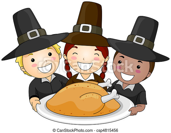 Thanksgiving Pilgrim - csp4815456