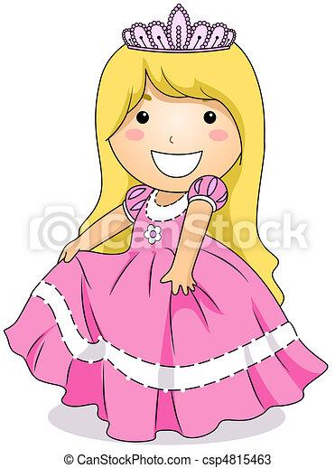 Princess Costume - csp4815463