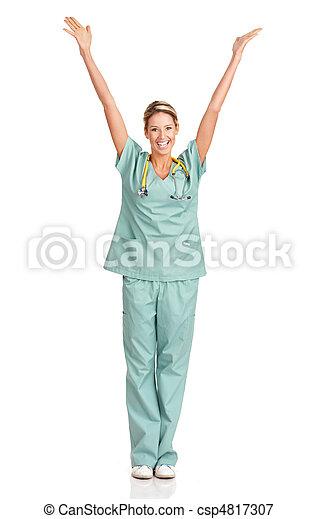 Medical nurse - csp4817307