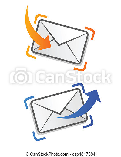 email letter - csp4817584
