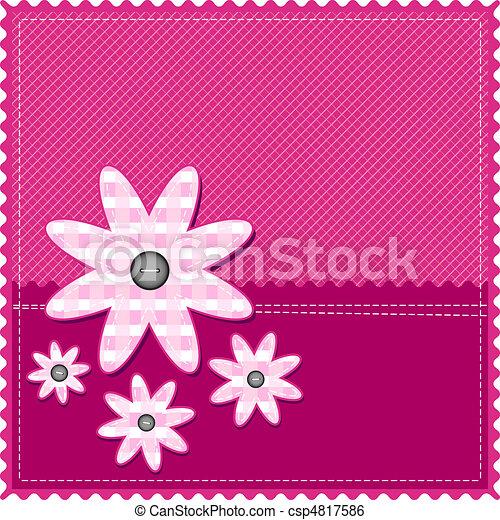 girl congratulation card - csp4817586