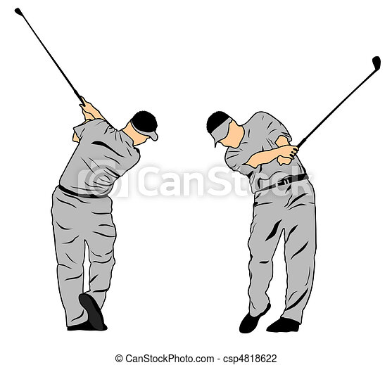 Golf Swing Logo Golf Swing Csp
