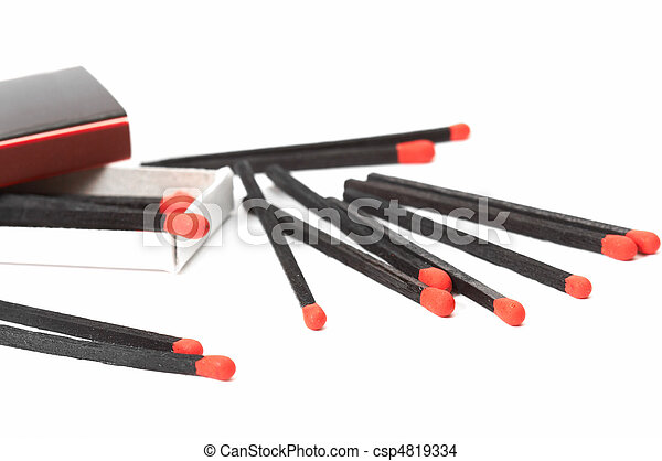 sparse black matches - csp4819334