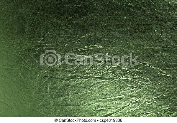 metallic green background - csp4819336