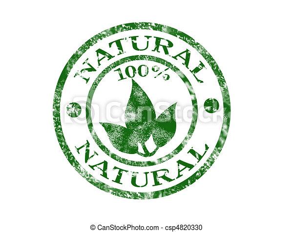 Natural stamp - csp4820330