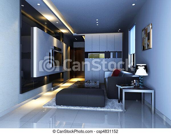 clip art von inneneinrichtung wohnzimmer. Black Bedroom Furniture Sets. Home Design Ideas