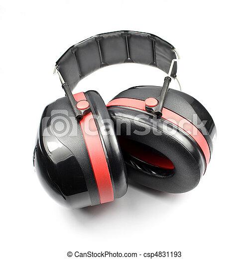 Ear muffs or ear defender - csp4831193
