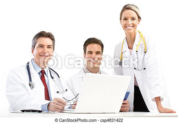 médico, doutores - csp4831422