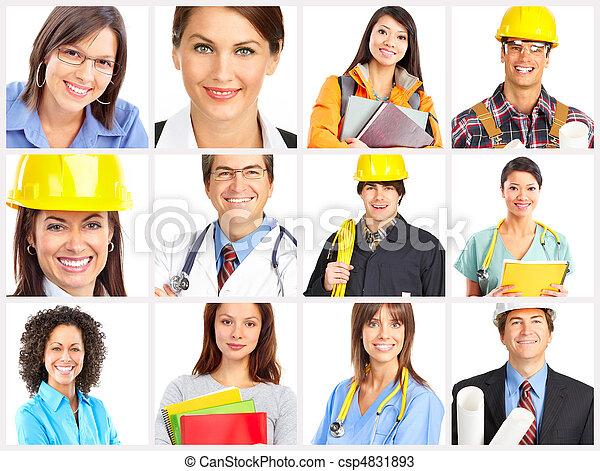 Workers - csp4831893