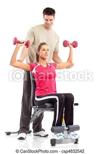 Gym & Fitness - csp4832542