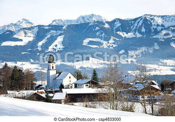 winter bavaria - csp4833000
