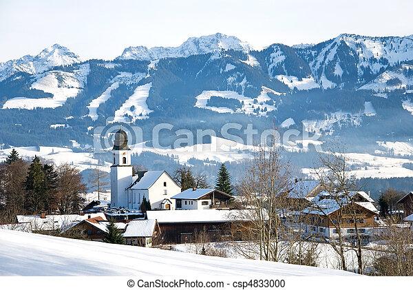 winter bavaria - csp4833000