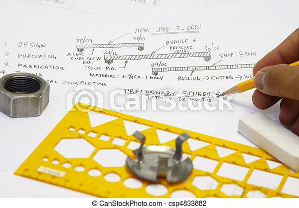 Fabrication schedule - csp4833882