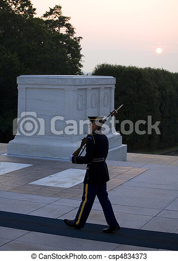 dawn guard duty - csp4834373