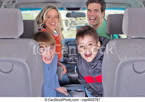 Family car - csp4835787