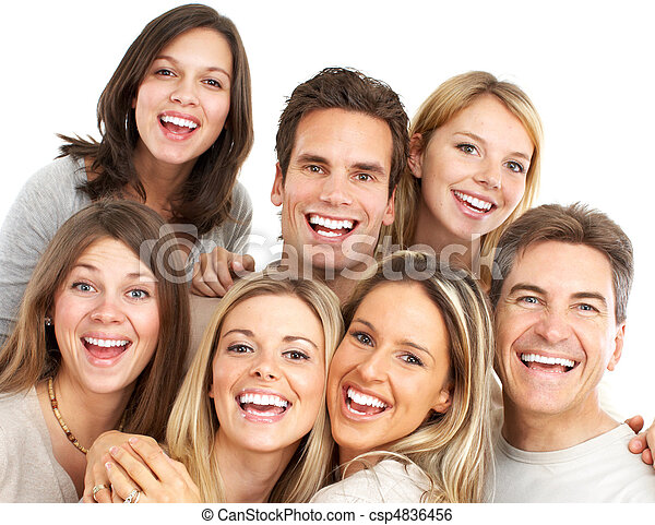 幸せ, 人々 - csp4836456