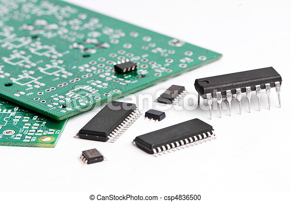 micro electronics element and board - csp4836500