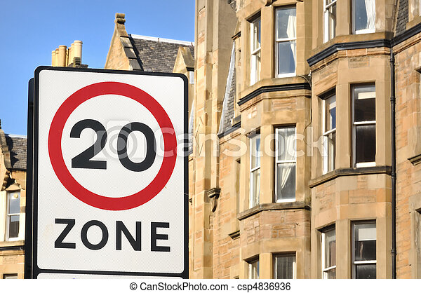 20Mph Residential Zone - csp4836936