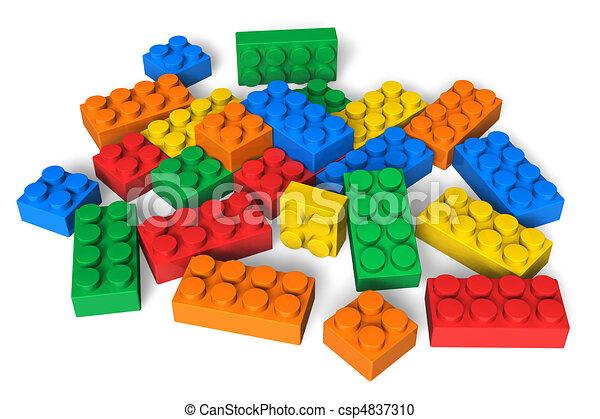 Color building blocks - csp4837310