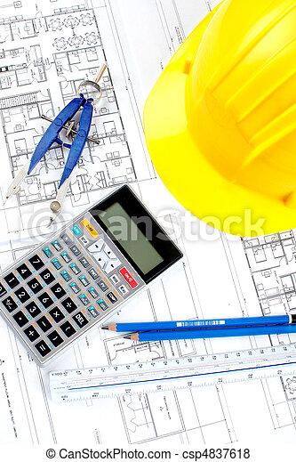 construction drawing - csp4837618