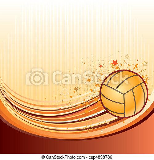 volleyball - csp4838786