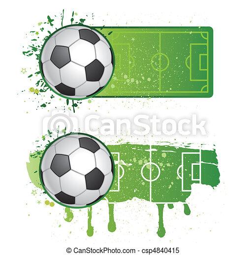 soccer sport - csp4840415