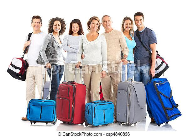 Tourist people - csp4840836