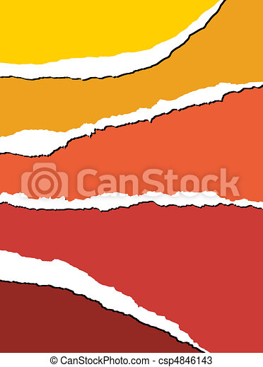 Tear paper - abstract background - csp4846143