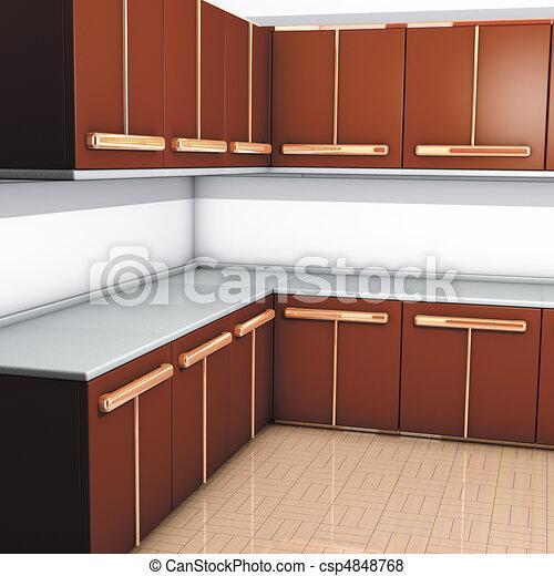illustration de bois modules cuisine 3d rendre bois modules cuisine csp4848768. Black Bedroom Furniture Sets. Home Design Ideas