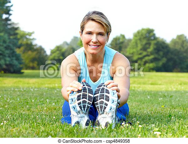 Fitness - csp4849358