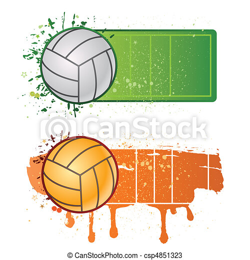 volleyball sport - csp4851323