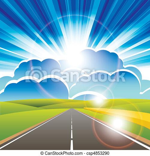 road - csp4853290