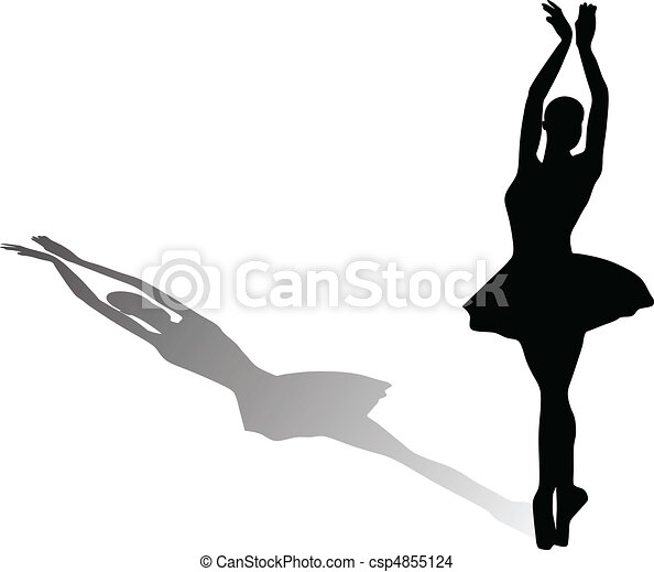 ballet dancer - csp4855124