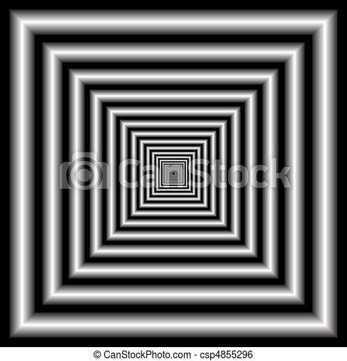 tunnel. optical illusion - csp4855296